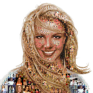 Britney Spears: A life mosaic   by tsevis