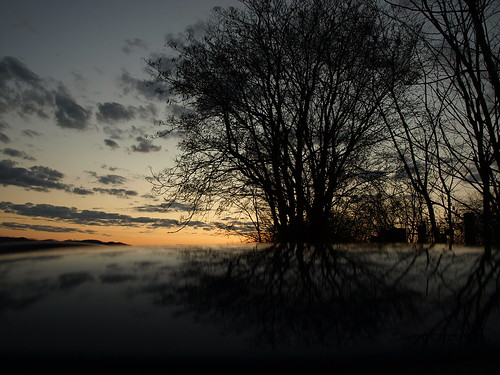 sunset reflection car river flickr olympus scioto sciotoriver e510 kingarthur10 arthurbogardgmailcom
