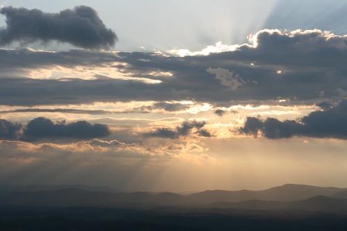 mountain clouds sunrise canon eos rebel 50mm valley blueridgemountains aftonmountain xti anawesomeshot aplusphoto diamondclassphotographer