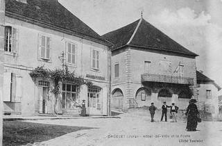 Le premier bureau de Poste d'Oorgelet