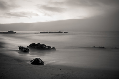 ocean ca longexposure bw usa beach fog sunrise venturacountyfair 2ndplace bwlandscapedivision