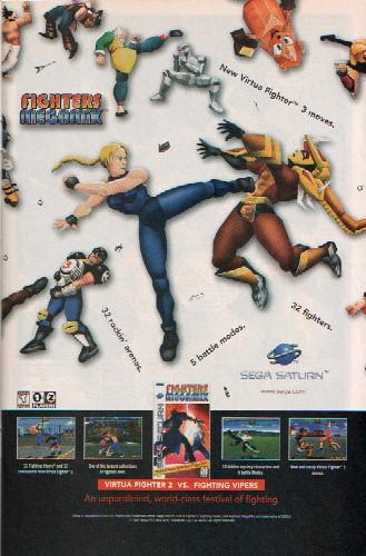Sega Saturn Fighters Megamix Ad | Don S | Flickr