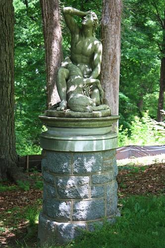 Forest Glen Cyporissus Statue   by Mr.TinDC