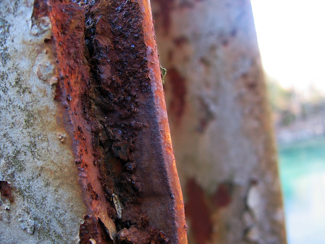 Rust on Lost Creek Bridge, White Co, TN