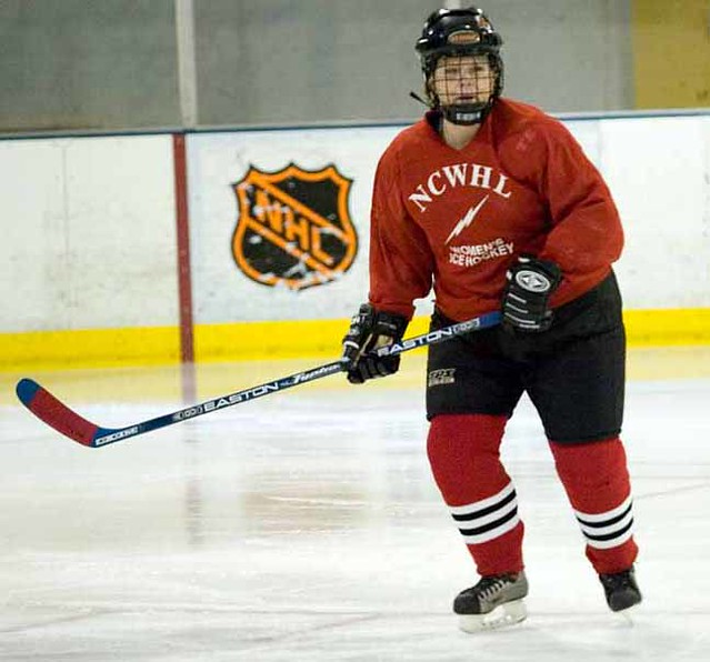 NCWHL Red Division Jersey