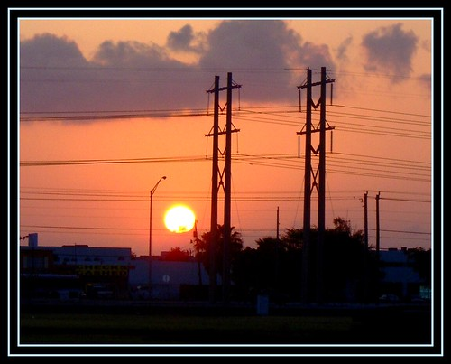 sunset sol atardecer nubes dominicana 55 siluetas aplusphoto laindiadelcibao