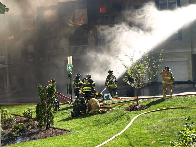 Fire in Peabody