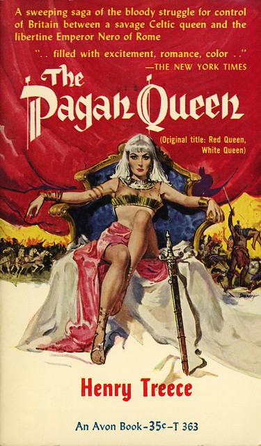 Avon Books T-363 - Henry Treece - The Pagan Queen