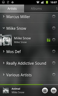 Google Music BETA playing music | by RichardStuartGregory