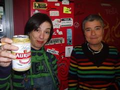 María Eloy (poeta) + Asun Urbieta (alcaldesa)