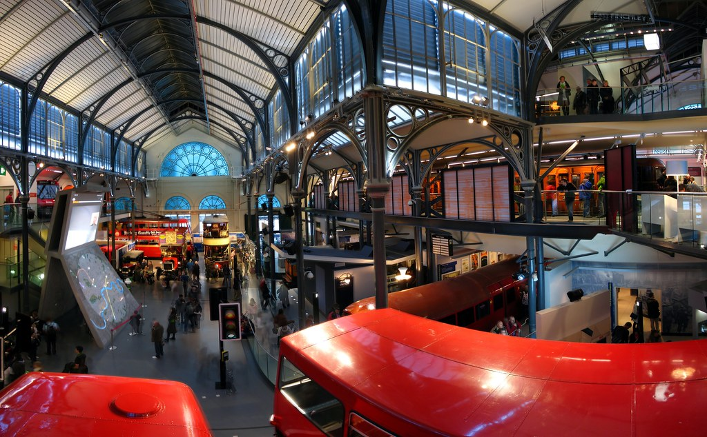 London Transport Museum Panorama