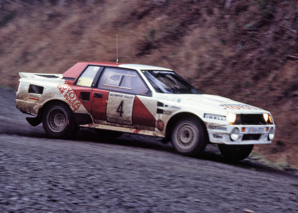 Toyota Celica - 1986 Olympus Rally | Lars-Erik Torph and ...