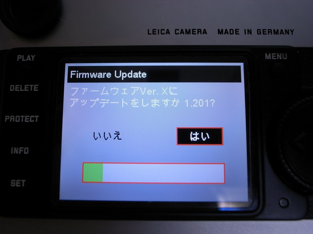 LEICA M8 Firmware Ver 1 201 Ricoh GR Digital II