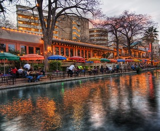 The River Walk at Sunset in San Antonio | by Trey Ratcliff