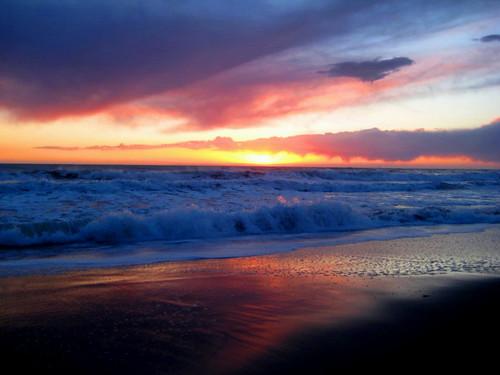 california pink sunset sky usa beach water beautiful clouds sunrise canon sand waves colours tide horizon explore beaches sanclemente explored ashleyrose canonpowershotsd750 ashleyrosex
