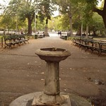 Drinking Fountain in Washington Square Park