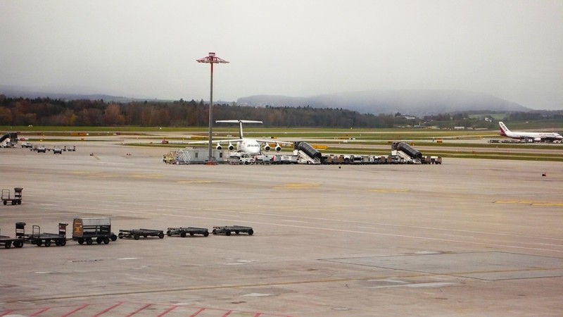 At Zürich Airport