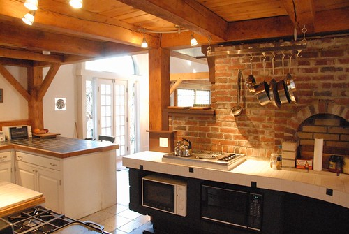 Kitchen from entry | by Hound's Hollow in Brownsville, VT