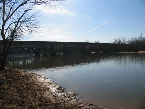 2005 railroad bridges northcarolina rivers i85 yadkinriver us70 us29 wilcoxbridge