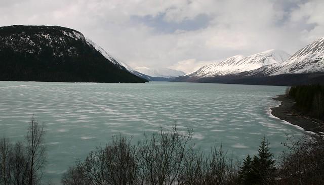 Frozen Kenai Lake