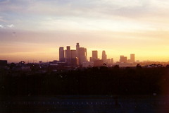 Los Angeles, California Skyline as seen from Dodger Stadium | by Ken Lund