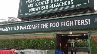 Catering: Foo Fighter Sign | by thegoddessandgrocer