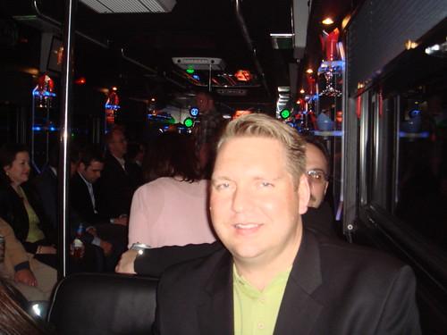 Lee Odden on Epiar Party Bus   by leeodden