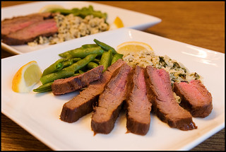 Barbecued Oriental Flank Steak (Cooking Light)
