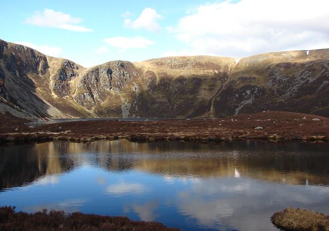 Loch Brandy and Ben Tirran
