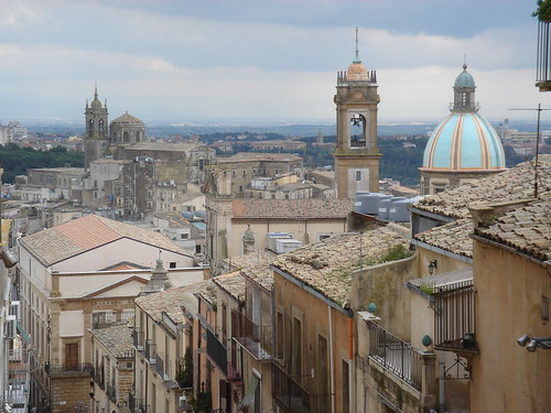 blue roof sky italy building church landscape day cloudy sicily catania caltagirone heritagesite230 heritagestie232