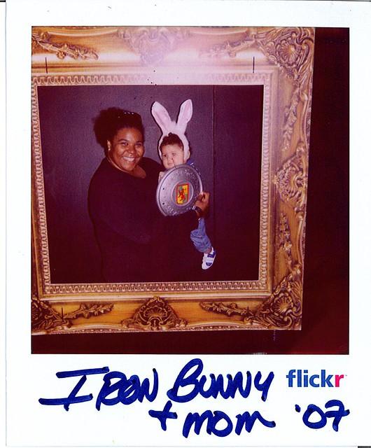 Iron bunny + mom '07