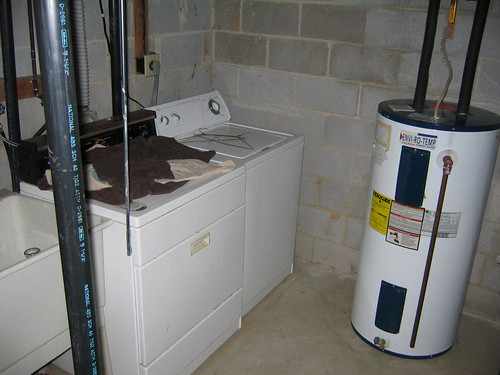 water Heater With a tank