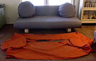Ikea Allerum Sofa Bed Amp Extra Cover 200 W 80 Quot D 40 Quot H Flickr