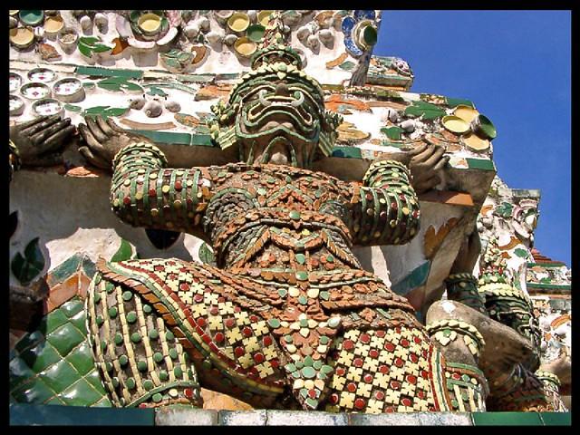 Detail on the Wat Arun