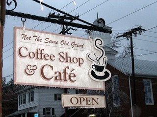 """""""Not the Same Old Grind"""" Coffee Shop 
