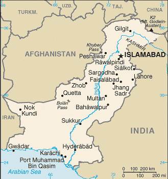 Map Islamabad Pakistan Map of Pakistan   Islamabad is the national capital of Pakis…   Flickr