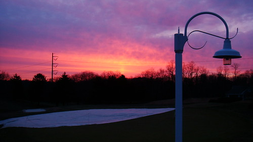 pink red sky orange sun lamp beautiful silhouette clouds sunrise march newjersey colorful pretty purple widescreen nj monroe 2008 169 middlesex shx dublinninja shawnhikichi