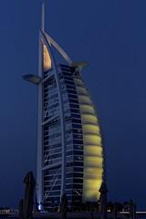 Dubai: Burj Al Arab Jumeirah at Night