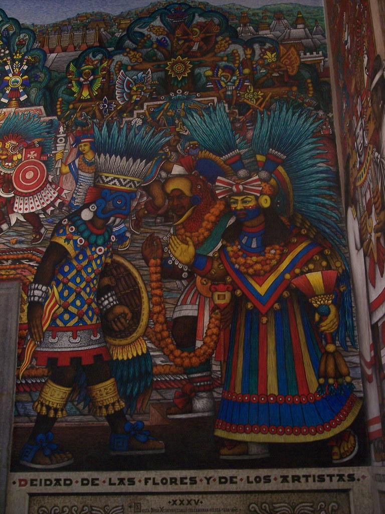 Mural El Siglo De Oro Tlaxcalteca El Siglo De Oro Tlaxca Flickr