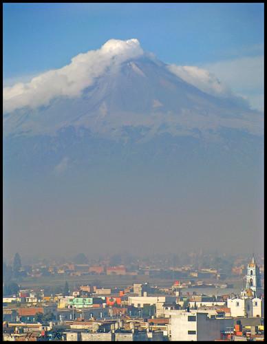 Volcán Popocatepetl, Puebla