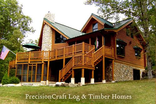 Flickriver: PrecisionCraft Log & Timber Homes's photos