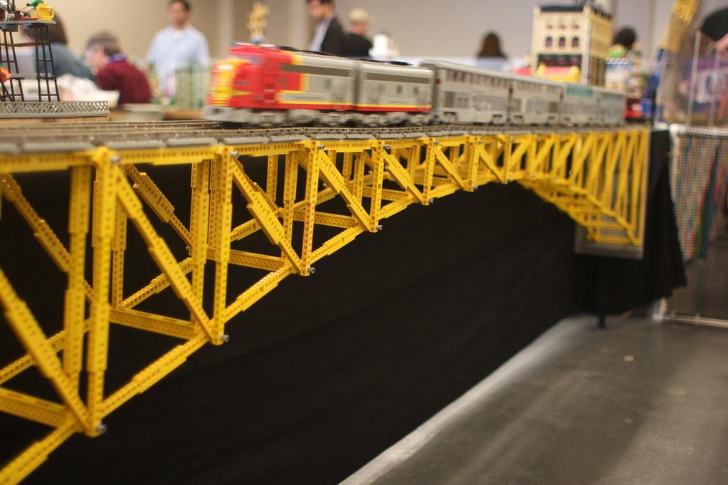 Lego Bridge They Had A Wonderful Town Of Legos Set Up