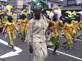 Lagos Carnival 2011 - Oworonsoki Parade (Nigerian Drag Queen) | by Jujufilms