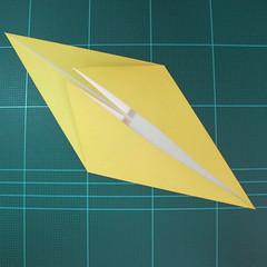 วิธีการพับกระดาษรูปม้าน้ำ (Origami Seahorse) 007