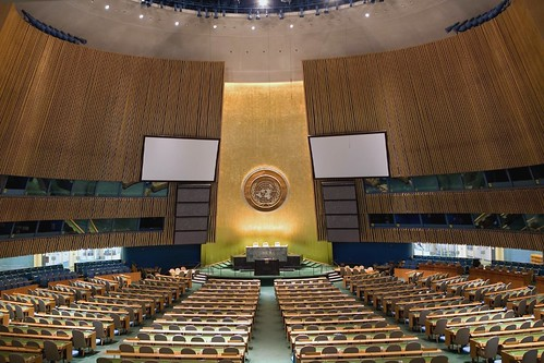 General Assembly Hall, United Nations HQ (New York City) | by Luke Redmond