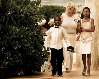 Candid Wedding Party Photo  - VoxEfx