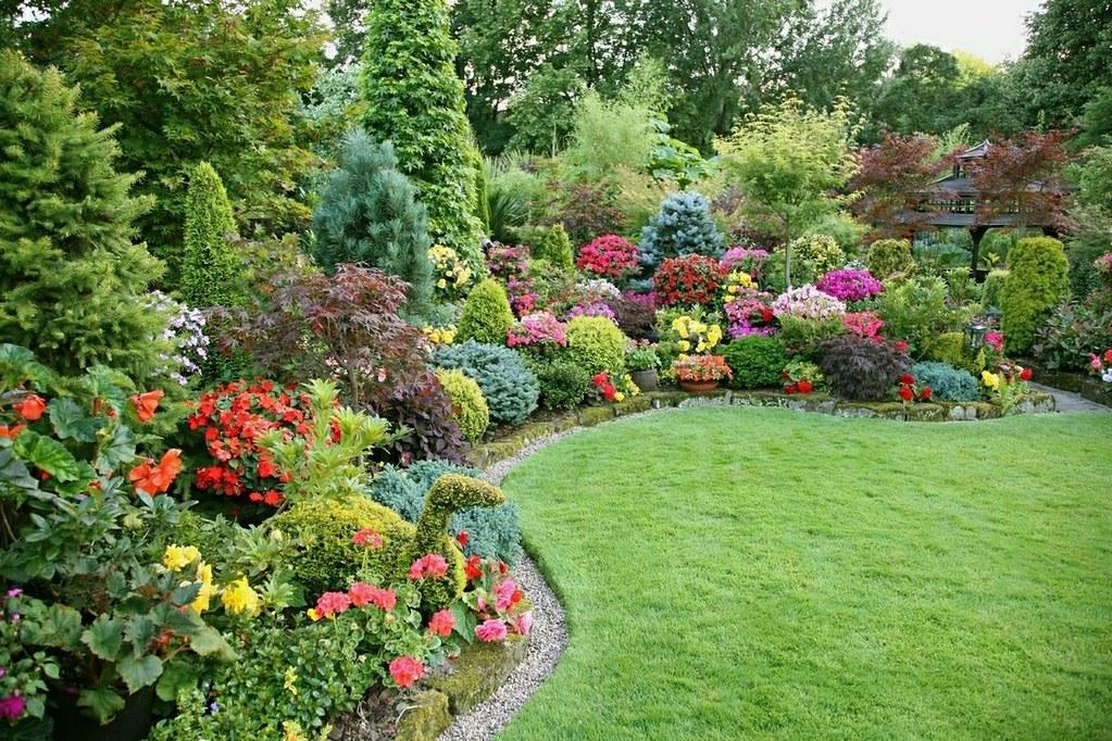 Merveilleux Beautiful Garden Flowers Of Summer | English Garden For All ...