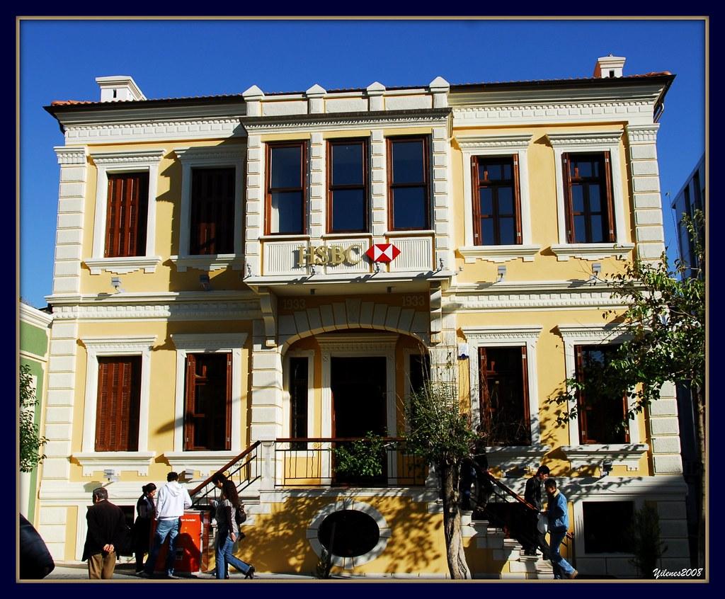 Maybe World's oldest HSBC bank building in, Mugla,Turkey,b… | Flickr