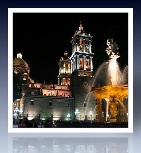 Reflejo de mi Catedral - Puebla