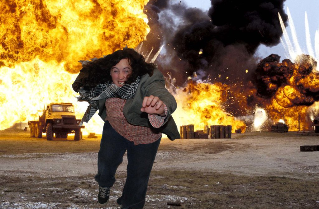 'ACTION MOVIE' (The Explosion)